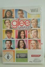 BRAND NEW  SEALED GLEE KARAOKE REVOLUTION VOL 1 Wii GAME FREE POSTAGE