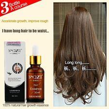 Smooth Hair Growth Solution Snail Essence Liquid Oil For Hair Loss Type 30ml