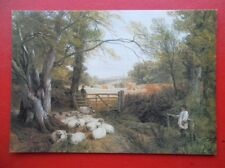 POSTCARD THE SHEPHERD BOY - FREDERICK WILLIAM HULME