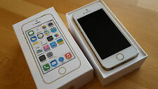 Apple iPhone 5s 32GB gold in Box ohne Simlock + brandingfrei + iCloudfrei !