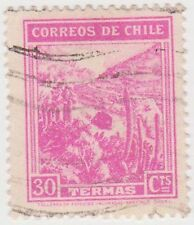 (CH289) 1938 Chile 30c pink mineral spas (I)