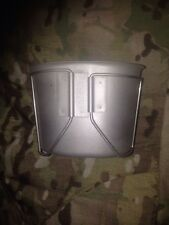!!! USGI STAINLESS STEEL CANTEEN CUP 1 QUART W/BUTTERFLY HANDLES. BEST PRICE!!!