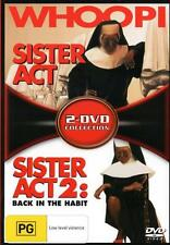 Sister Act / Sister Act 2: Back in the Habit  - DVD - NEW Region 4