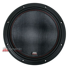 """MTX Audio 7512-44 Woofer Car Stereo 12"""" Sub DVC 4-Ohm Subwoofer 1,500W New"""