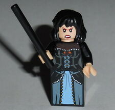 HARRY POTTER Lego Bellatrix Lestrange w/wand Custom NEW Genuine Lego Parts #34F