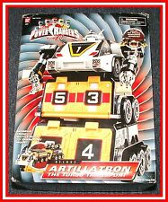 Power Rangers Turbo Rescue_ DX Artillatron Carrier Megazord (MIB) _ * Must See
