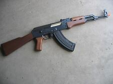 One Air Soft Double Eagle Full Electric Metal AK-47 AEG Airsoft Gun 400 FPS Wood