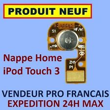 ✖ NAPPE BOUTON HOME IPOD TOUCH 3 3G FLEX CABLE ✖ NEUF GARANTI EXPÉDITION 24H ✖