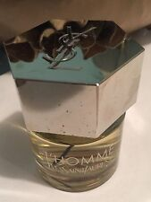 YSL L' HOMME YVES SAINT LAURENT 2 oz EAU de TOILETTE SPRAY VERY HANDSOMELYFRESH