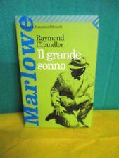 Chandler IL GRANDE SONNO - Feltrinelli 2001 investigatore Philip Marlowe
