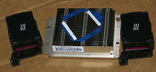 New HP DL360 DL360p G8 Xeon CPU Kit, Heatsink 654757-001 & 2 Fans 654752-001