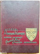 1952 HARVARD BUSINESS SCHOOL YEARBOOK, THE ANNUAL REPORT, BOSTON, MA