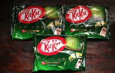 Kit Kat Matcha Green Tea 3 Bags (12 mini packs per bag) From Japan