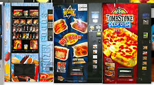 New Set of 3 Vending Machine(KOSHER,PIZZA,FROZEN FOODS) 1:43 Scale Diorama