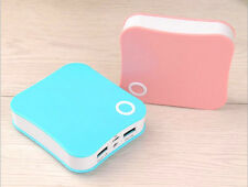 10000 mAH Mini portable Power Bank Charger Double USB charging port