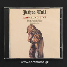 JETHRO TULL - AQUALUNG LIVE, CD RandM RECORDS 2005 RR 8100-2 NEW SEALED