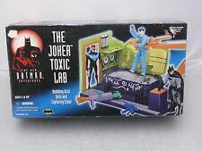The New Batman Adventures Animated Series The Joker Toxic Lab Acid Bath Playset
