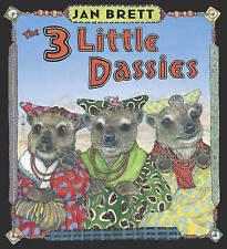 3 Little Dassies, The Jan Brett New Book