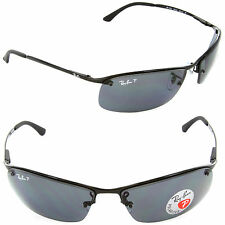 Ray-Ban RB 3183 002/81 Black / Polarized Grey Lens