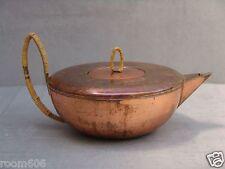 50er Jahre Designer Teekanne - Kupfer