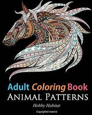 Stress Relief Coloring Bks.: Adult Coloring Books: Animals : 45 Stress...