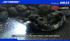 JETBeam HR25 800LM CREE XM-L2 LED USB Rechargeable Head lamp Torch Battery IPX-6