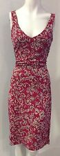 BCBG MAX AZRIA Designer Dress Size Medium M 8 10 Sundress Formal Floral Pink