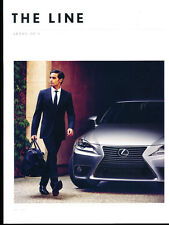2014 Lexus 90-page Car Brochure Catalog  RX LS GS IS CT LS460 GS350 CT200h ES350