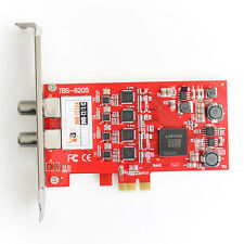 TBS 6205 DVB-T2 DVB-C Quad TV Tuner PCIe Card-IDEALE 4 Tuner Freeview CARD