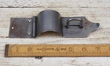 2 x Ferro da stiro CUSTODIA SERRATURA & STAPLE Bull Naso Antico 175mm