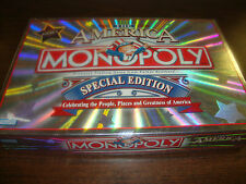 The America Monopoly Board Game---Special Edition---2002