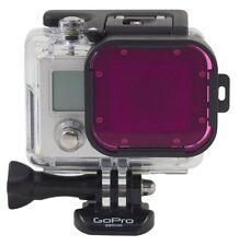 Polar Pro Gopro Hero 3 Hero 4 Magenta Dive Filter Dive Housing Green Water P1010
