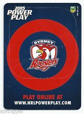 2015 NRL Power Play PHOTO FRAME (PF14) Roosters