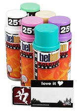 Belton Molotow Sprühdosen Lollipop Mix - Candy Pack Vorrats Set 6x400ml