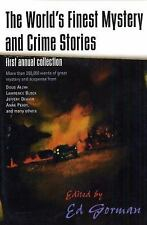 The World's Finest Mystery and Crime Stories: First Annual Collection -ExLibrary