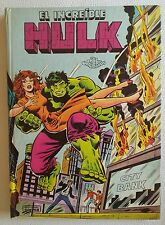 Pop-up book - El Increible Hulk - Libros Animados Norma 1980 Marvel