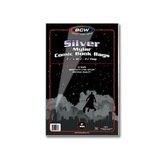 Silver Age Comic Mylar Storage Bags 2 Mil x 50 per pack