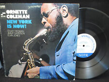 Ornette Coleman - New York is Now! on Blue Note BNST 84287 Gatefold Stereo