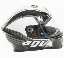 GV K5 DRIFT HELMET -BLACK/WHITE/GUN METAL- SMALL/MEDIUM