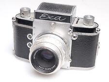 Exa F + Carl Zeiss Tessar 50 / 2,8