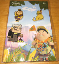 Disney Pixar Store 3 pin set UP dog DUG Carl Fredricksen & Russel