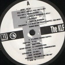"KLF america what time is love 7"" WS EX/ uk KLF USA 4"