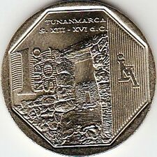 "Peru 1 Nuevo Sol 2013 ""Wealth and Pride of Peru"" Tunanmarca Uncirculated"