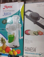 COMBO PACK APEX FRUIT & VEGETABLE JUICER + FRUIT & VEGETABLE Slicer & Chopper