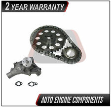 87-95 GMC Jimmy G3500  4.3 L OHV Vortec Timing Chain kit & Water Pump #TW055