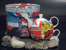 Tea For One tea4one SET TEIERA PORCELLANA very British Inghilterra Londra di PPD