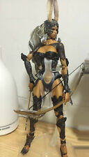 Original Square Enix Play Arts Final Fantasy XII FF12 Fran Action Figure(no box)