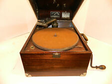 Beautiful Working Victor Victrola Phonograph VV-50 plus Ten 78 Records