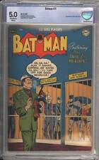 Batman # 71  The Jail for Heroes !  CBCS 5.0 scarce Golden Age book !
