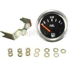 2'' 52mm Mechanical Car Fuel Level Gauge Without Sensor E-1/2-F 12V DC US